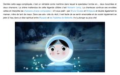 """Un film à voir! LE CHANT DE LA MER - de Tomm Moore sortie en France le 10 Decembre :: Nolwenn Leroy intèrprête """"les chansons phares composées - s'il vous plaît - par Bruno Coulais et Birdpaula.""""  http://generationnelles.com/2014/12/10/cinema-le-chant-de-la-mer/  Beautiful animated film SONG OF THE SEA by Tomm Moore - release  date in the US December 19! """"animation"""" """"anima"""" """"le chant de la mer"""" """"tomm moore"""" """"birdpaula"""""""