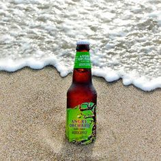It's only Tuesday, but Laura S. in Oregon has us already dreaming about hitting the beach #GreenApple #BranchOut #AO #AngryOrchard