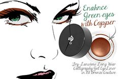 The Best Eye Makeup For Green Eyes-Copper