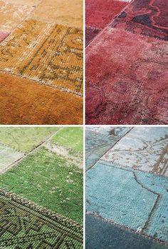 Kleur in huis halen met vintage patchwork tapijten in leuke kleuren! - Makeover.nl