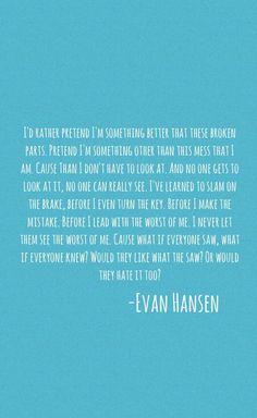 Dear Evan Hansen-Words Fail
