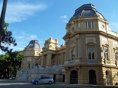 Rio de Janeiro, Brasil - Palácio Guanabara (sede do governo estadual)