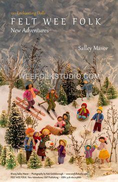 link to video on how to make felt wee folk - aka bendy dolls