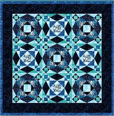 Quilt Inspiration: Storm-at-Sea Quilts, free block diagrams and patterns this is next on my to do list! Batik Quilts, Blue Quilts, Mini Quilts, Quilting Tutorials, Quilting Projects, Quilting Designs, Quilt Block Patterns, Quilt Blocks, Patch Quilt