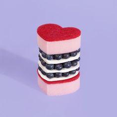 Vanessa Mckeown @vanessamckeown Valentines sponge...Instagram photo | Websta (Webstagram)