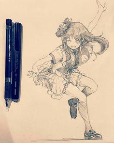 Art sketches, manga girl drawing, anime girl drawings, sketch manga, cool d Art Manga, Manga Drawing, Anime Art, Anime Drawings Sketches, Anime Sketch, Art Drawings, Mangaka Anime, Anime Poses Female, Character Illustration