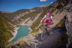 Bike Transalp Challange 2016, unser Rennbereicht, im Dirndl und in der Lederhose über die Alpen, inklusive GPX Tracks.