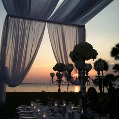 Gorgeous Sunset wedding