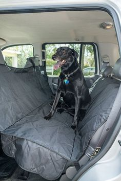 Quilted Deluxe Seat Cover for Dogs, Cats or Other Beloved Pets - Waterproof Non-Slip Protection for the Back or Front Seat of your Car, Truck, Minivan or SUV by 2PET. Choose your size and color. ** Check out this great product. Indoor Dog Gates, Waterproof Seat Covers, Dog Car Accessories, Dog Barrier, Indestructable Dog Bed, Large Dog Crate, Large Dogs, Dog House For Sale, Wire Dog Crates