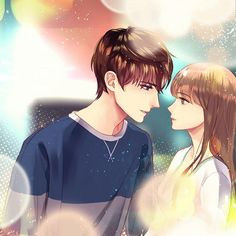 You might just want some relatable wallpaper for your desktop or smartphone. So here are Romantic Couple Cartoon Love Photos HD that you will totally love! Couples Comics, Anime Couples Manga, Cute Anime Couples, Anime Cupples, Kawaii Anime, Anime Guys, Anime Love Couple, Couple Cartoon, Cartoon Love Photo