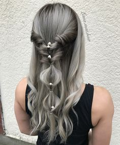 Silver Hair Long Hairstyle Inspiration