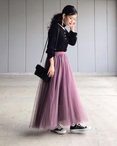 春服コーデ【2020年】絶対おさえるべき「トレンド」が、わかる!|MINE(マイン) Tulle, Yuki, Skirts, How To Wear, Instagram, Fashion, Moda, La Mode, Tutu