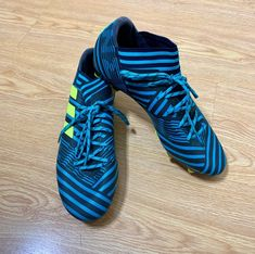 Gently pre loved. Size 7.5 Open to bundles and offers! Adidas Cleats, Adidas Sport, Soccer Shoes, Footwear, Football Boots, Shoe, Cleats, Football Shoes, Shoes