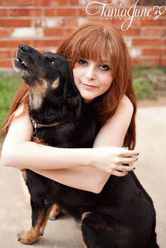 A Girl & Her Dog   Southlake Pet Photography   taniajune.com