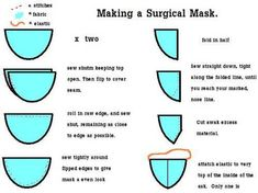 Surgical Mask. NO SWINE FLU! NO ZOMBIE INVASION! TUTE INCLUDED! - CLOTHING