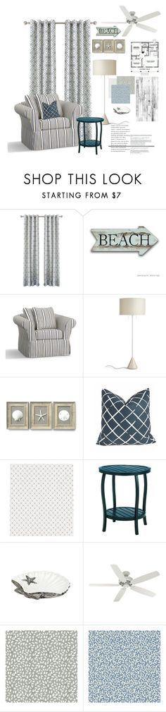 """""""Untitled #3922"""" by kellie-debrandt-mescher ❤ liked on Polyvore featuring interior, interiors, interior design, home, home decor, interior decorating, Pottery Barn, Robert Allen, Ralph Lauren and Frontgate"""