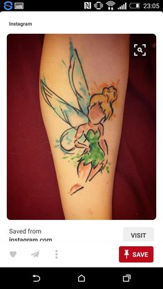 Tinkerbell // Tattoo