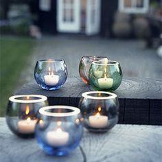 Cocoon tealight holder, evergreen H 7,5 | desiary.de - identity store