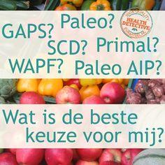 Paleo, SCD, GAPS, WAPF, autoimmuun protocol, wat is het en wat is het beste voor jou? | www.evawitsel.nl