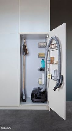 like the vacuum hose storage. though still need storage for vacuum pipe and head.