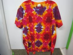 2XLarge TALL Tie Dye Unique Purples and Bright by AlbanyTieDye ... ddd2ba2d5