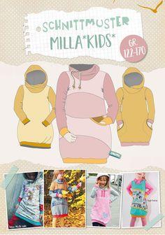 """Kleider - Lybstes. Ballonkleid """"Milla"""" E-Book Gr. 122-170 - ein Designerstück von Lybstes bei DaWanda"""