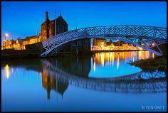 Godmanchester – City Lights Underneath the Chinese Bridge