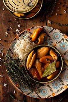 Cómo hacer Mejillones en Escabeche caseros, sanos y ligeros Carne Asada, Aperitivos Finger Food, Pot Roast, Finger Foods, Hummus, Food And Drink, Ethnic Recipes, Drinks, Chic