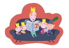 Ben & Holly's Little Kingdom Shaped Jigsaw Puzzles in a box: Amazon.co.uk: Toys & Games