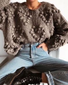 Inspirationsideen Herbst-Winter-Outfits Be Bad … – Beste Outfit Ideen Winter Sweater Outfits, Winter Sweaters, Fall Winter Outfits, Winter Wear, Autumn Winter Fashion, Winter Clothes, Autumn Style, Spring Outfits, Vetements Clothing