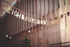 Johannesburg Südafrika Neighbourgoods Market Braamfontein