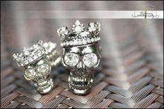 Pixie Dust Bride: {Trends We Love} Sparkly Skull Wedding Decor