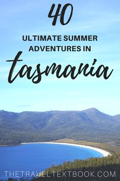 Tasmania Summer Pinterest