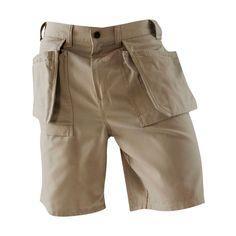 Blaklader 1634 Work Shorts - Stone | FullSource.com