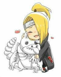 Find images and videos about kawaii, naruto and chibi on We Heart It - the app to get lost in what you love. Boruto, Sasori And Deidara, Deidara Akatsuki, Gaara, Anime Chibi, Anime Kawaii, Naruto Kakashi, Naruto Cute, Fotos Do Anime Naruto