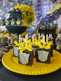 Transformers Birthday Parties, Batman Birthday, 4th Birthday Parties, 5th Birthday, Transformer Birthday, Rescue Bots, Transformers Bumblebee, Kauai, Party Planning