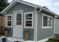 Garden cottage style. Storage, garden shed, tool shed, playhouse, craft room, mother in law home, cabin, guest room, man cave, mom's get away, game room, home office
