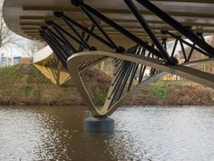 埋め込み画像への固定リンク Urban Concept, Bridge Design, Parametric Design, Pedestrian Bridge, Building Structure, Twin Cities, Civil Engineering, Wood Construction, Places To Visit