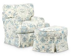 Judy WW-Judy Chair Loveseat Slipcovers, Ottoman Slipcover, Chair And Ottoman, Swivel Chair, Armchair, Aqua Bedding, Chair Fabric, Occasional Chairs, Great Rooms