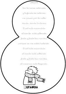 Infantil Santa Ana Caspe: ¡QUÉ FRÍO! Oita, Santa Ana, Vestidos Sport, Education, Words, Winter, Winter Time, Winter Activities, Toddler Activities
