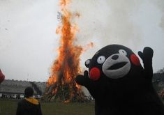 """You might know Kumamon as the official mascot character for Kumamoto Prefecture. Or you might know Kumamon as the bear from the """"For the Glory of Satan"""" meme. Images Maudites, Fangirl, 19 Kids, Cursed Images, Book Fandoms, Humor, Homestuck, Mood Pics, Creepypasta"""