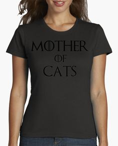 Camiseta MOTHER OF CATS