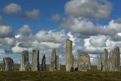 Callanish Standing Stones: The Callanish Stones are situated near the village of Callanish on the west coast of the isle of Lewis, in the Outer Hebrides. Construction of the site took place between 2900 and 2600 BC and the 13 largest stones form a circle of about 13 m in diameter.