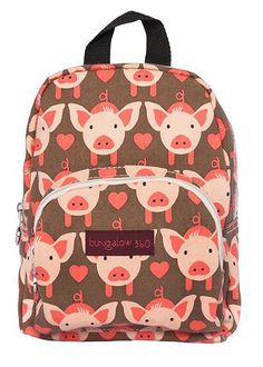 Amazon.com: Bungalow 360 Mini Backpack (Pig): Clothing