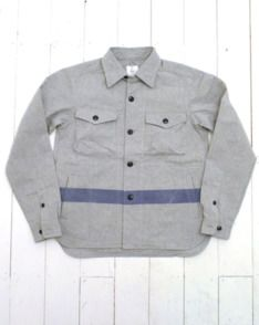 Grey CPO Shirt Jacket