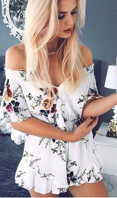Details: Floral print Off the shoulder Material:Polyester Regular wash Free Shipping ! We accept Visa ,MasterCard and Paypal . SIZE(CM) US BUST WAIST LENGTH S 2 102 64 65 M 4/6 106 68 66 L 8/10 110 72