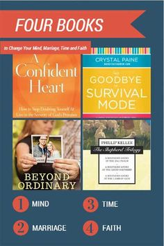 31 Days Unplugged - Day 17 - Four Books to Change Your Mind, Marriage, Time and Faith