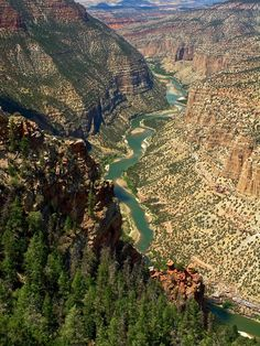 Green River, Dinosaur National Monument, Colorado; photo by Sally Weigand