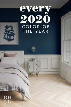 See which colors the experts say are going to welcome us into 2020—we'll keep a running tab of the colors of the year as they're announced. #coloroftheyear #colortrends #paintcolor #painttrendsfor2020 #dreamhome #bhg New Paint Colors, Colorful Bedroom Decor, Design Inspo, Paint Colors For Home, Small Room Paint, Color, Best Paint Colors, Woman Bedroom, House Colors