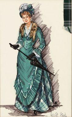 Edith Head - Costumière - La Meneuse de jeu - 1958 - Shirley Booth